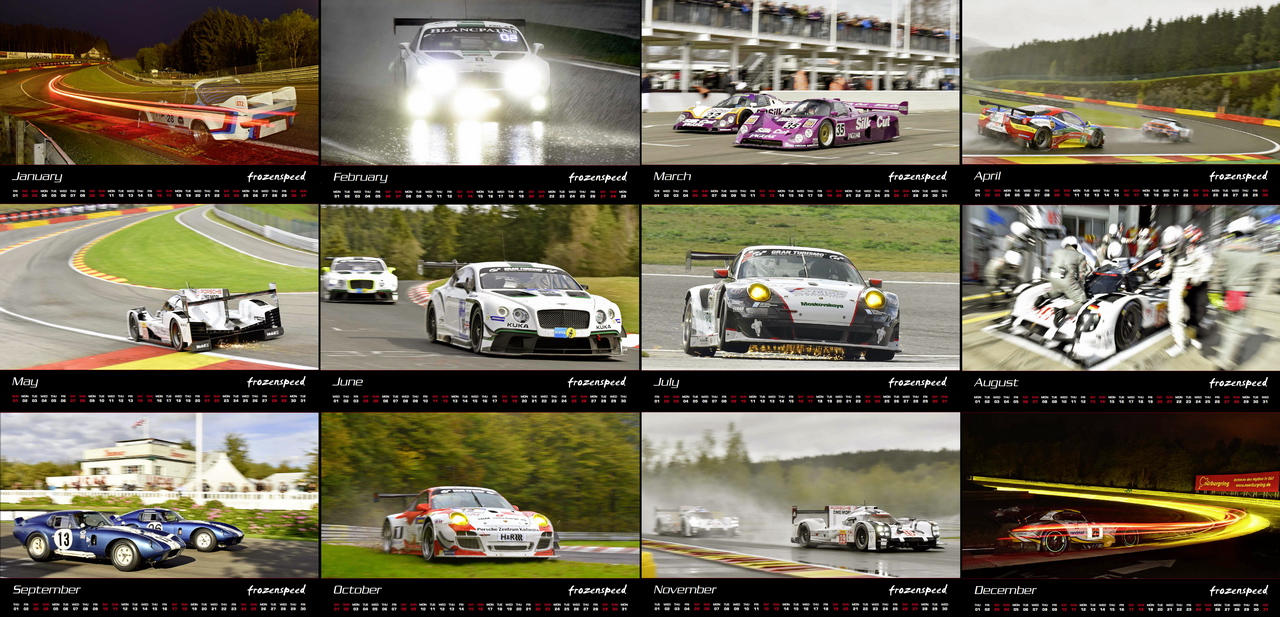 Racing Calendar May : Calendars frozenspeed motorsport photography